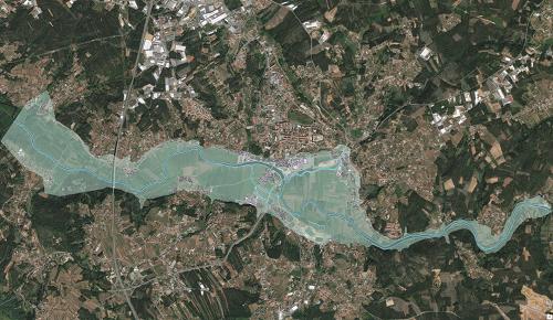 risco de inundações
